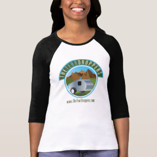 T-shirt Femmes 3/4 de remorque de larme (simples)