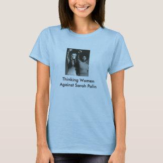 T-shirt Femmes de pensée contre le SAR…