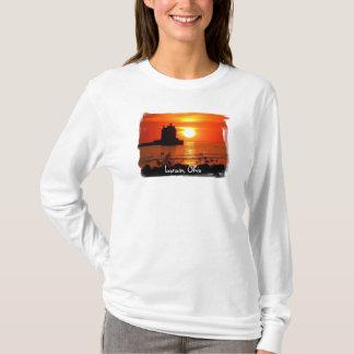 T-shirt Femmes de phare de Lorain hoody