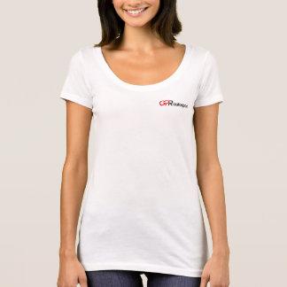 T-shirt Femmes de pièce en t de scoop de GPR Autosport