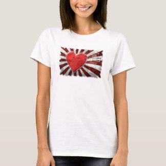 T-shirt Femmes de secours en cas de catastrophe de tsunami