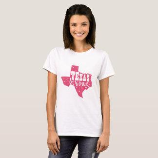 T-shirt Femmes du Texas fort, le Texas, chemise du Texas