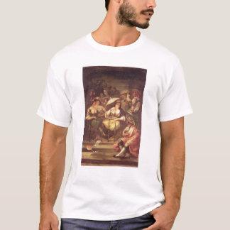 T-shirt Femmes sur un balcon, 1859
