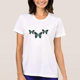 T-shirt Femmes turquoises de papillon