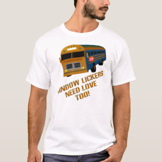 T-shirt Fenêtre Lickers
