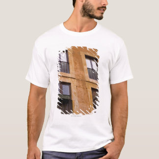 T-shirt Fenêtres d'appartement, Rome, Italie