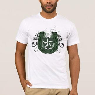 T-shirt fer à cheval chanceux. de haute fidélité