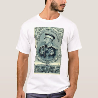 T-shirt Ferdinand, tsar de la Bulgarie