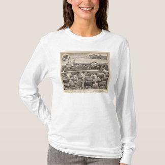 T-shirt Ferme courante d'Oakland, le Kansas