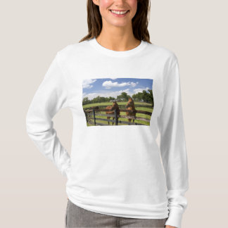 T-shirt Ferme de cheval de pur sang dans le comté de