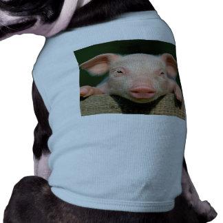 T-shirt Ferme de porc - visage de porc