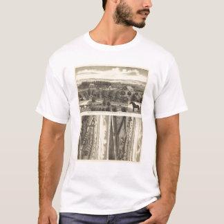 T-shirt Ferme de vallée de Wahoo, Nébraska
