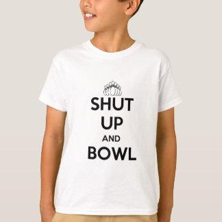 T-shirt Fermé et cuvette (gardez le style calme)