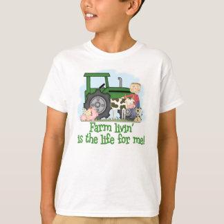 T-shirt Ferme Livin (garçon)
