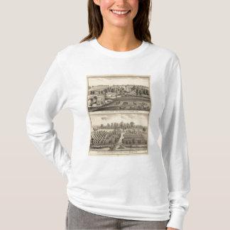 T-shirt Fermes de G Ives, Oakland, et un rouleur, Pewaukee