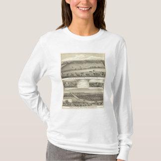 T-shirt Fermes du comté de Saunders, Nébraska