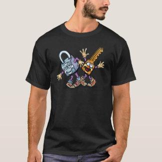 T-shirt Fermez à clef la clé de n