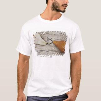 T-shirt Fermez-vous de la poire et de la tranche de poire