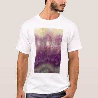 T-shirt Fermez-vous d'une améthyste pourpre