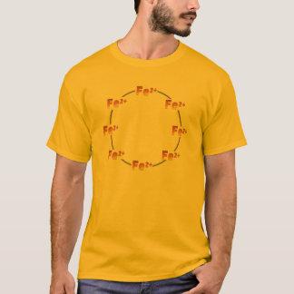 T-shirt ferreux de roue