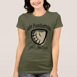 T-shirt Fest de palourde de Pontchartrain de lac