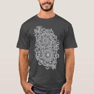 T-shirt Fest floral de musique de yoga de Boho de hippie