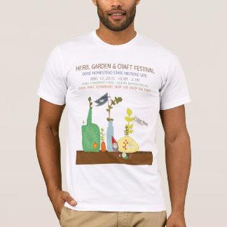 T-shirt Festival de l'herbe 2010, du jardin et du métier