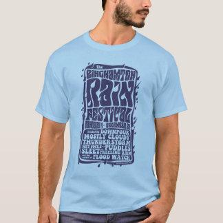 T-shirt Festival de pluie de Binghamton
