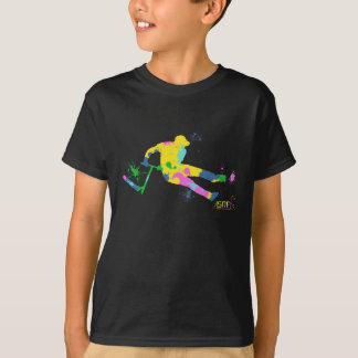 T-shirt festive scooter