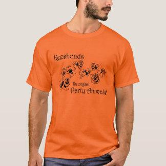 T-shirt Fêtard de Keeshond