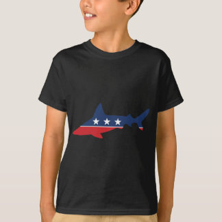 T-shirt Fêtard - requin