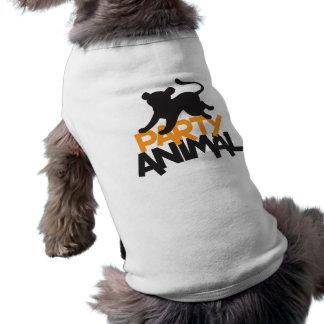 T-shirt Fêtard ! saut de chat