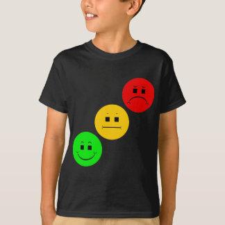 T-shirt Feu d'arrêt déprimé diagonal sans la rayure
