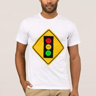 T-shirt Feu d'arrêt déprimé en avant
