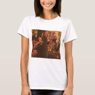 T-shirt feuille de chute