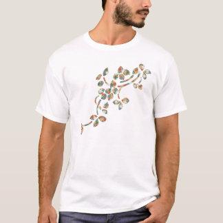 T-shirt Feuille de textile