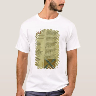 T-shirt Feuille d'inscription de Martin Luther