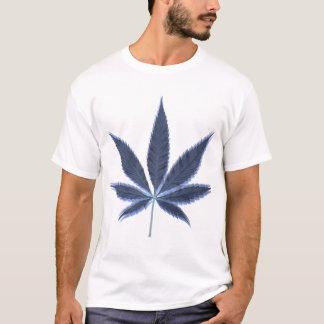 T-shirt Feuille psychédélique de pot