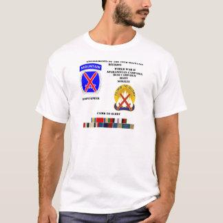 T-shirt Fiançailles de la 10ème division de montagne