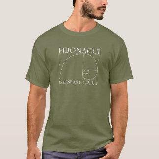 T-shirt Fibonacci - obscurité
