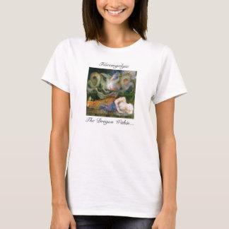 """T-shirt """"Fibromyalgie, le dragon dans… """""""