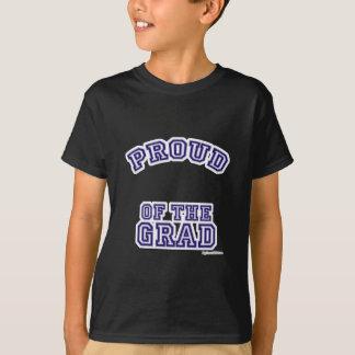 T-shirt Fier de ma plaine de diplômé