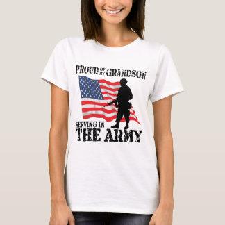 T-shirt Fier de mon petit-fils