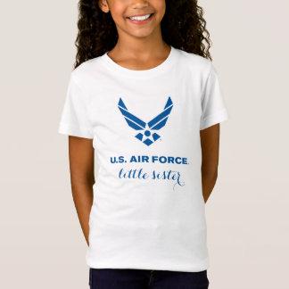 T-shirt fier de petite soeur de l'Armée de l'Air