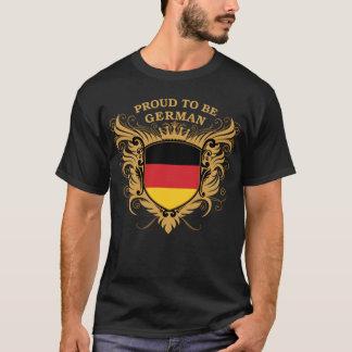T-shirt Fier d'être allemand