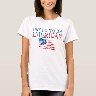 T-shirt Fier d'être américain