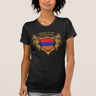 T-shirt Fier d'être arménien