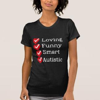T-shirt Fier d'être autiste