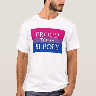 T-shirt Fier d'être Bi-Poly