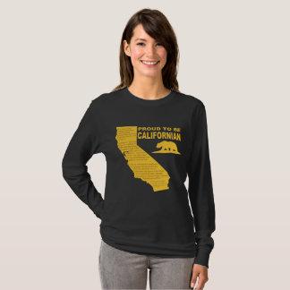 T-shirt Fier d'être Californien LongSleeve DK